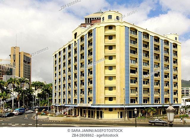 City Center and Financial district, Port Louis, Mauritius, Indian Ocean, Africa