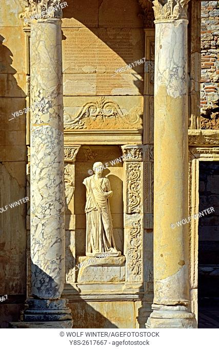Ephesus, Celcus Library, Selcuk, Turkey