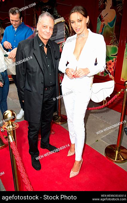 Celebrities attend the launch of The Ivy Asia, Chelsea in London. Featuring: Tais Slavskaya Where: London, United Kingdom When: 30 Jul 2021 Credit: WENN