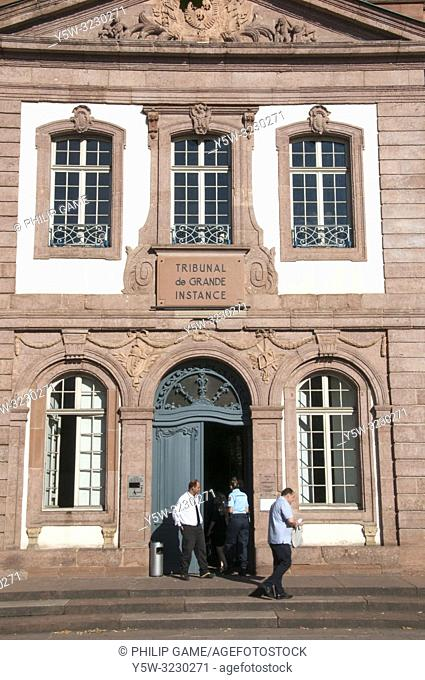Law courts at Colmar, Alsace, France