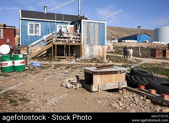 House in Qaanaaq, Greenland