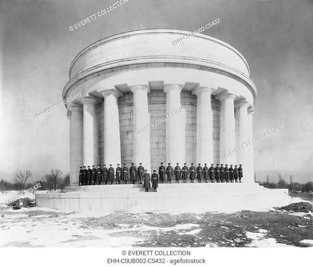 President Warren Harding and his wife Florence are buried in the Harding Tomb, Marion Ohio. The Harding Memorial Association raised $978