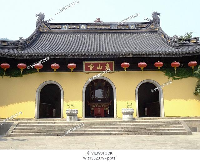 Huishan, Wuxi, Jiangsu Province, the temple town
