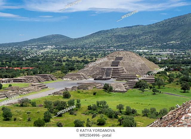 Pyramid of the Moon, Teotihuacan, Mexico City, Mexico