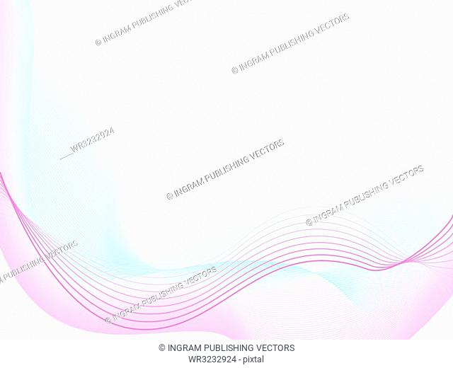 Abstract illustrated background in subtle colours ideal for a presentation