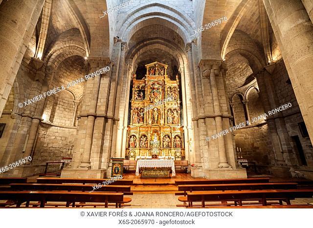 Church of Santa María in Sangüesa, Navarra, Spain