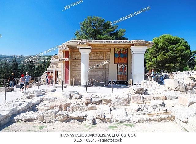 Knossos South Propylaea, Crete
