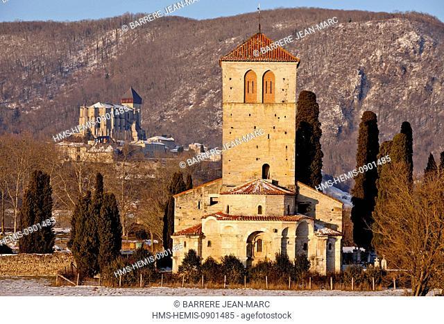 France, Haute Garonne, Saint Bertrand de Comminges, labeled Les Plus Beaux Villages de France (The Most Beautiful Villages of France)