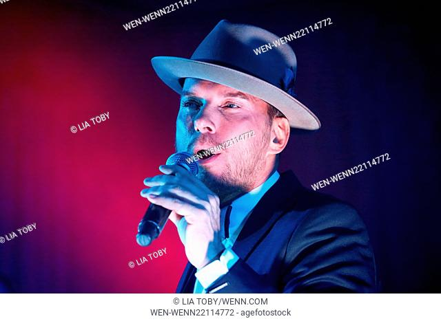 Matt Goss performs at the 'Hold Amy's Hand' fundraiser at the Dorchester Featuring: Matt Goss Where: London, United Kingdom When: 26 Jan 2015 Credit: Lia...