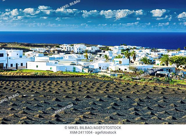 Tinajo. Lanzarote, canary islands, Spain, Europe