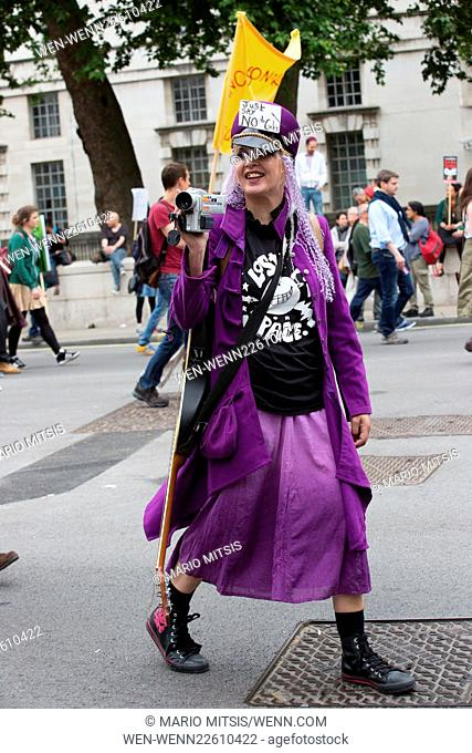 The People's Assembly Anti-Austerity March in Parliament Square Featuring: Atmosphere Where: London, United Kingdom When: 20 Jun 2015 Credit: Mario Mitsis/WENN