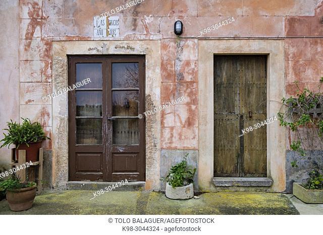 Cal Cardenal Rossell, Cas Concos des Cavaller, Felanitx, Mallorca, balearic islands, Spain