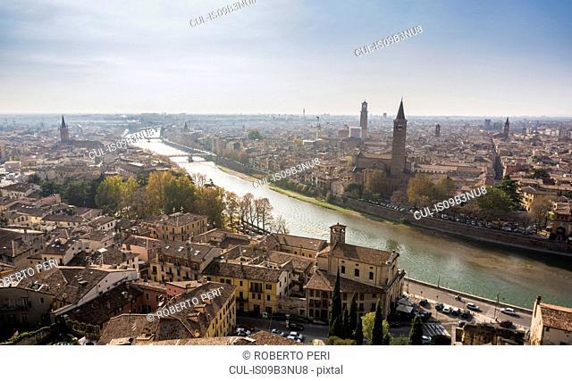 Cityscape, Verona, Veneto, Italy