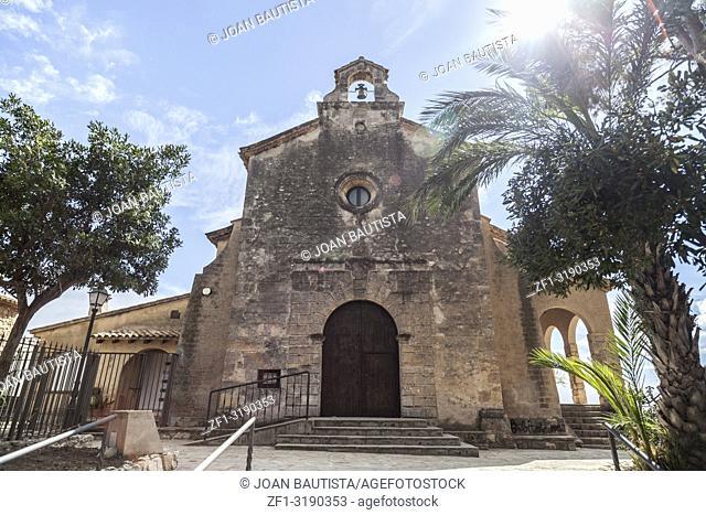 Ancient hermitage in Roda de Bera,Costa Dorada,Catalonia,Spain