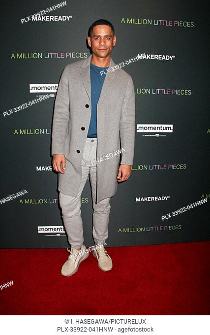 """Charlie Barnett 12/04/2019 The Los Angeles Special Screening of """"""""A Million Little Pieces"""""""" held at The London West Hollywood at Beverly Hills in West Hollywood"""