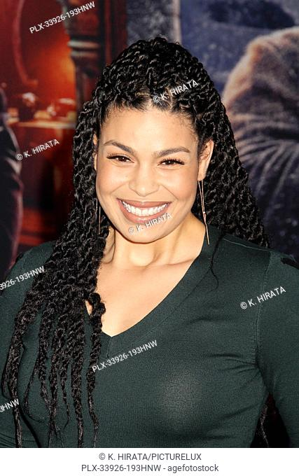 """Jordin Sparks 12/09/2019 """"""""Jumanji: The Next Level"""""""" Premiere held at the TCL Chinese Theatre in Hollywood, CA. Photo by K. Hirata / HNW / PictureLux"""