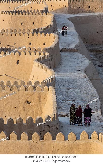 Uzbekistan ,Khorezm Region, Khiva City (W.H.) , Western City Walls