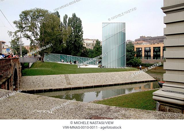 Memoria e Luce is a memorial in Padua, Italy for victims of the 9/11 attacks on New York City. The memorial is designed as an op