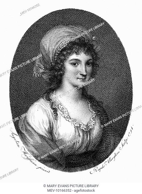 DOMENICA VOLPATO MORGHEN Daughter of the Italian engraver Giovanni Volpato, betrothed to Antonio Canova but she preferred - and wed - Raffaele Morghen