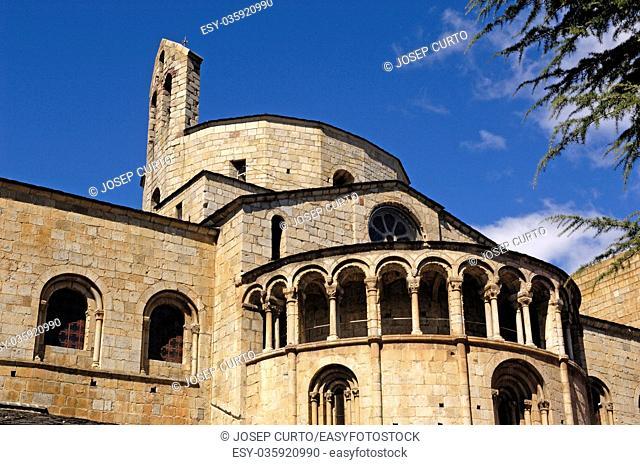 Cathedral of La Seu d urgell, Lleida province, Catalonia, Spain