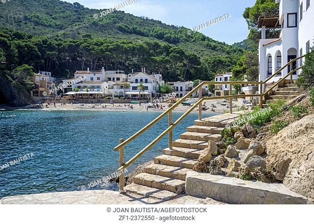 Sa Tuna beach in Begur,Catalonia,Spain
