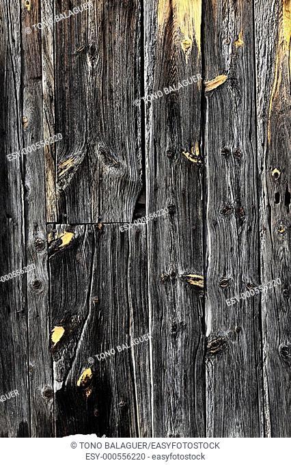 aged gray wooden door texture background