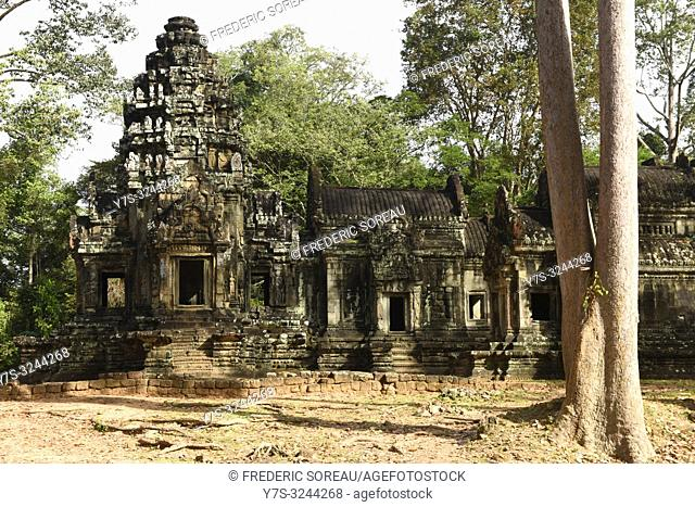 Ta Som temple at Angkor complex in Siem Reap, Cambodia, South east Asia