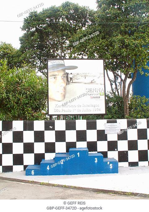 Kartódromo de Interlagos, Kartódromo Municipal Ayrton Senna, Autodromo José Carlos Pace, São Paulo, Brazil