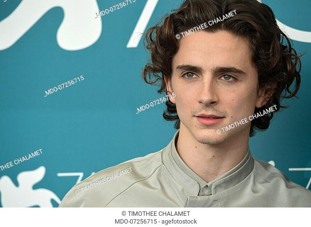 Timothee Chalamet at the 76 Venice International Film Festival 2019. The King photocall. Venice (Italy), September 2nd, 2019