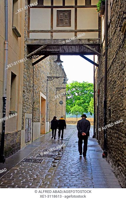 street, Pamplona, Navarra, Spain