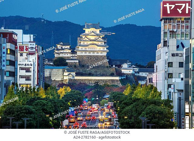 Japan, Himeji City, Himeji Castle, Shirazaki Jo, (W. H. )