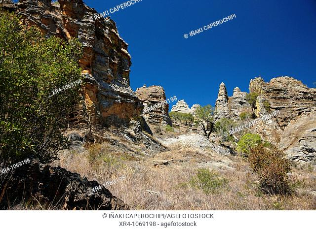 Isalo National Park, Ranohira, Fianarantsoa, Madagascar, Africa
