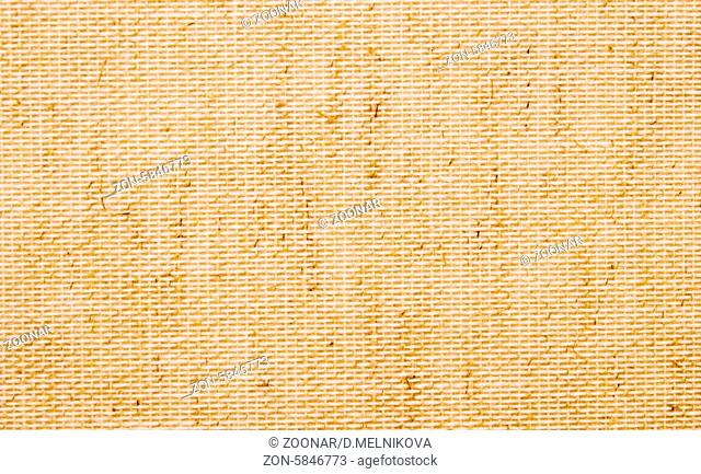 close up of plaited straw