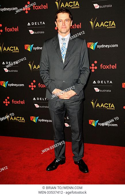 Celebrities attend 7th AACTA International Awards at Avalon Hollywood. Featuring: Peter Czenin Where: Los Angeles, California