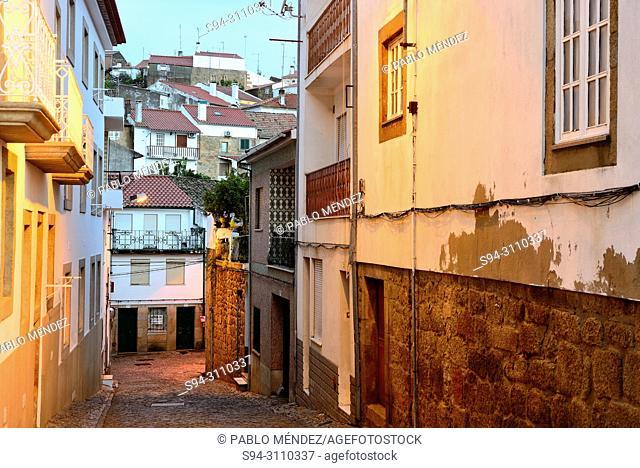 Alley in Idanha-a-Nova, Castelo Branco, Portugal