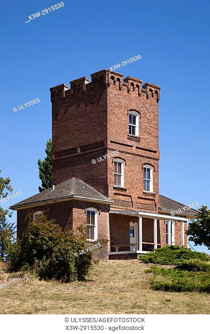 Alexander's Castle, Fort Worden State Park, Port Townsend, State of Washington, USA, America