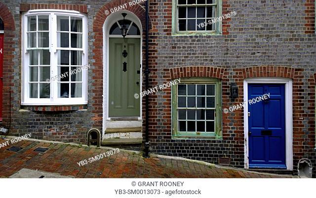 Keere Street, Lewes, Sussex, UK