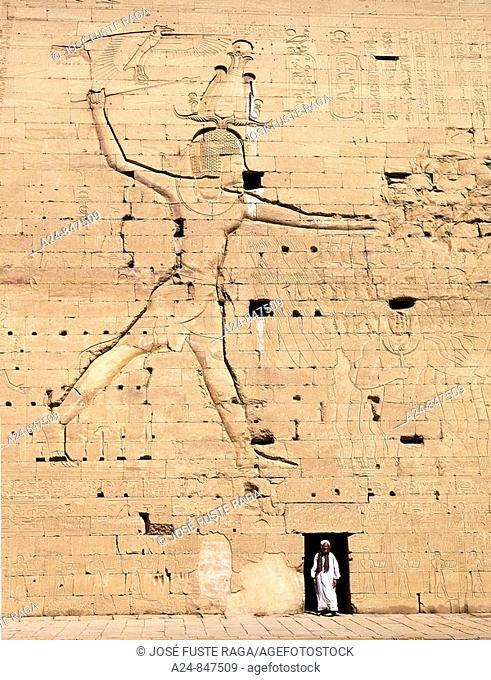 Temple of Horus, Edfu, Egypt (March 2007)