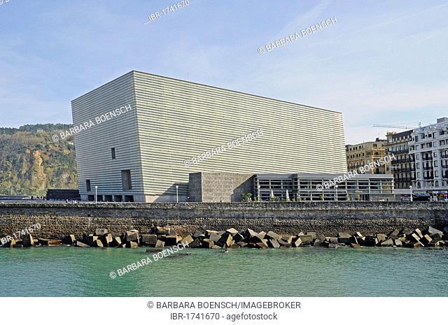 Kursaal, convention centre, cultural centre, San Sebastian, Pais Vasco, Basque Country, Spain, Europe