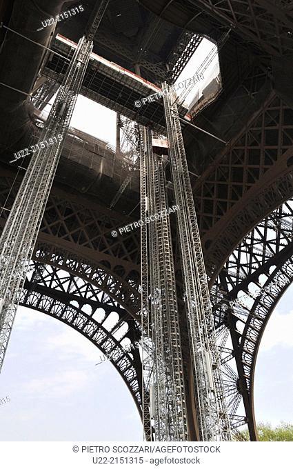 Paris, France, the Tour Eiffel