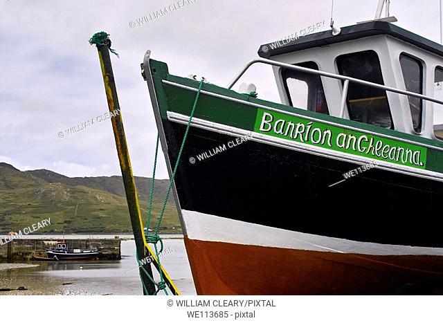 Fishing boat, West of Ireland, County Mayo, Ireland