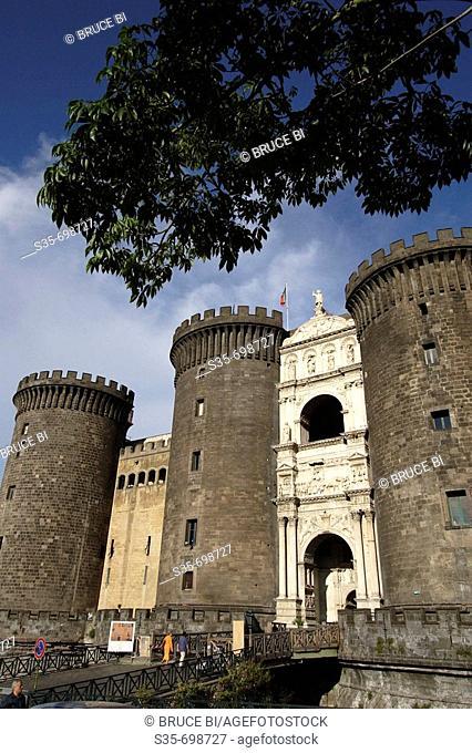 Castel Nuovo. Naple. Campania. Italy