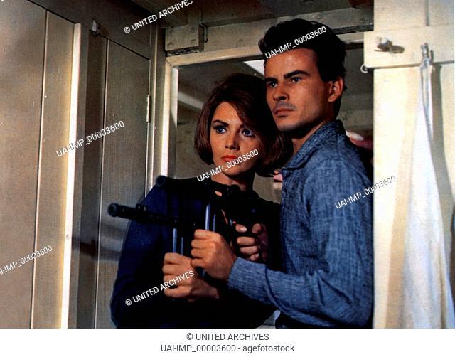 Unser Mann aus Istanbul, (OPERACION ESTAMBUL) SP-IT-F 1964, Regie: Antonio Isasi-Isasmendi, SYLVIA KOSCINA, HORST BUCHHOLZ, Stichwort: Waffe, Maschinenpistole