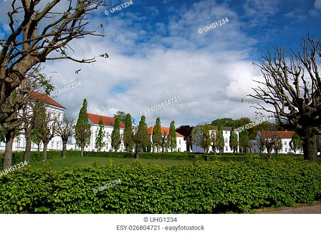 Putbus is a town on the southeastern coast of the island of Ruegen, Germany