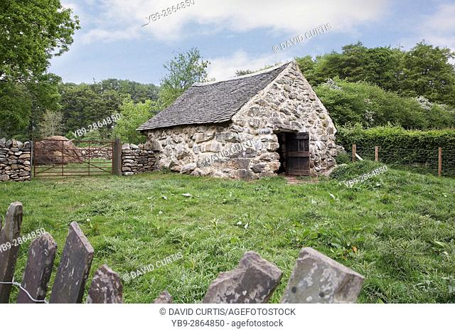 Farm house outbuilding at st fagans museum of welsh life, Wales, Uk