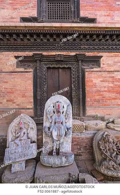 Durbar Square, Bhaktapur City, Kathmandu Valley, Nepal, Asia, Unesco World Heritage Site