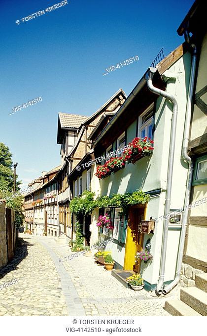 Germany, Quedlinburg : Old Town