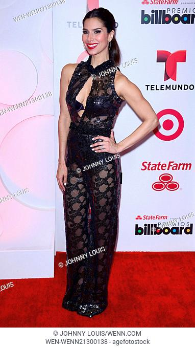 Billboard Latin Music Awards 2014 held at Bank United Center - Pressroom Featuring: Roselyn Sanchez Where: Coral Gables, Florida