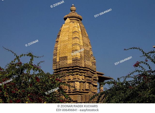Subsidiary shrine near to Lakshmana Temple in the Western Group of Temples in Khajuraho