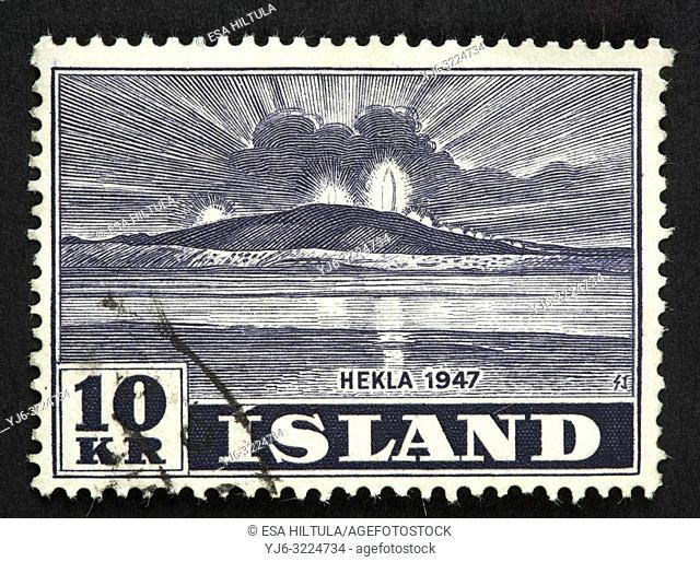 Icelander postage stamp